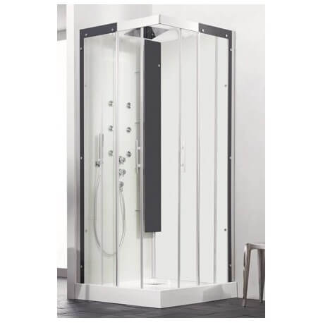 cabine de douche horizon c80 couleurs version thermostatique kinedo. Black Bedroom Furniture Sets. Home Design Ideas