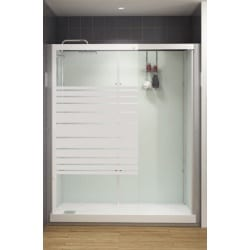 Cabine de Douche Kinemagic Design en niche Kinedo Thermostatique Haute