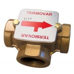 "Vanne Thermostatique TERMOVAR 1"" 1/4 61°C de chez Thermador"