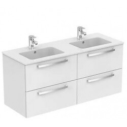 Meuble + Lavabo-plan suspendu ULYSSE 120 cm Ideal Standard