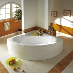 Baignoire COLLECTION angle Aquarine